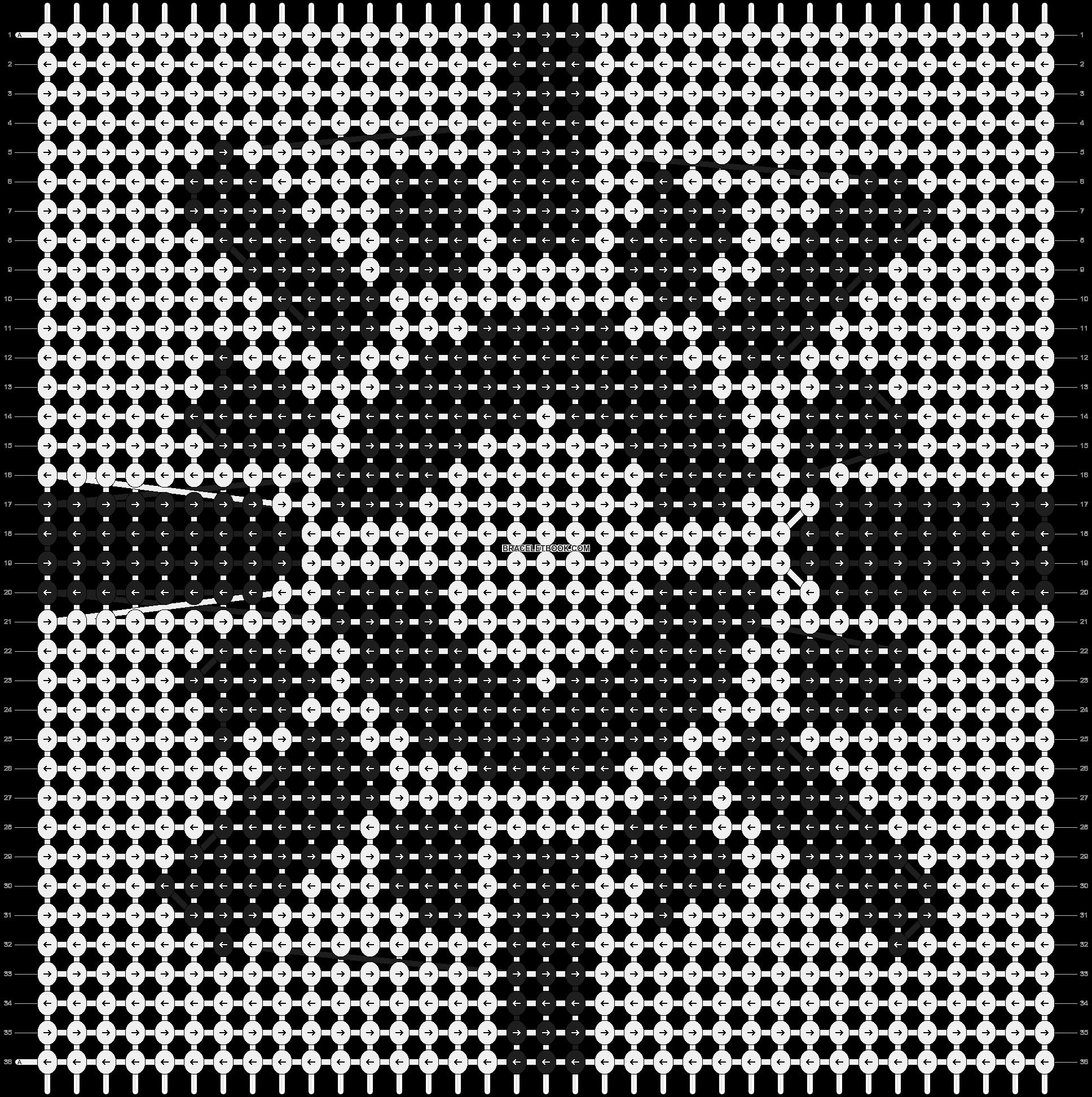 Alpha pattern #6821 pattern