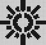 Alpha pattern #6821