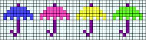 Alpha pattern #6822