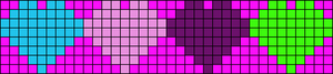Alpha pattern #6823