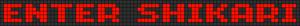 Alpha pattern #6825