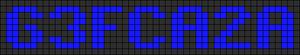 Alpha pattern #6827