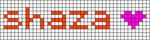 Alpha pattern #6829
