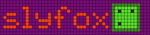 Alpha pattern #6830