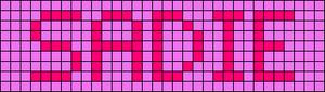 Alpha pattern #6834