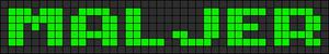 Alpha pattern #6835
