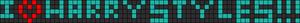 Alpha pattern #6836