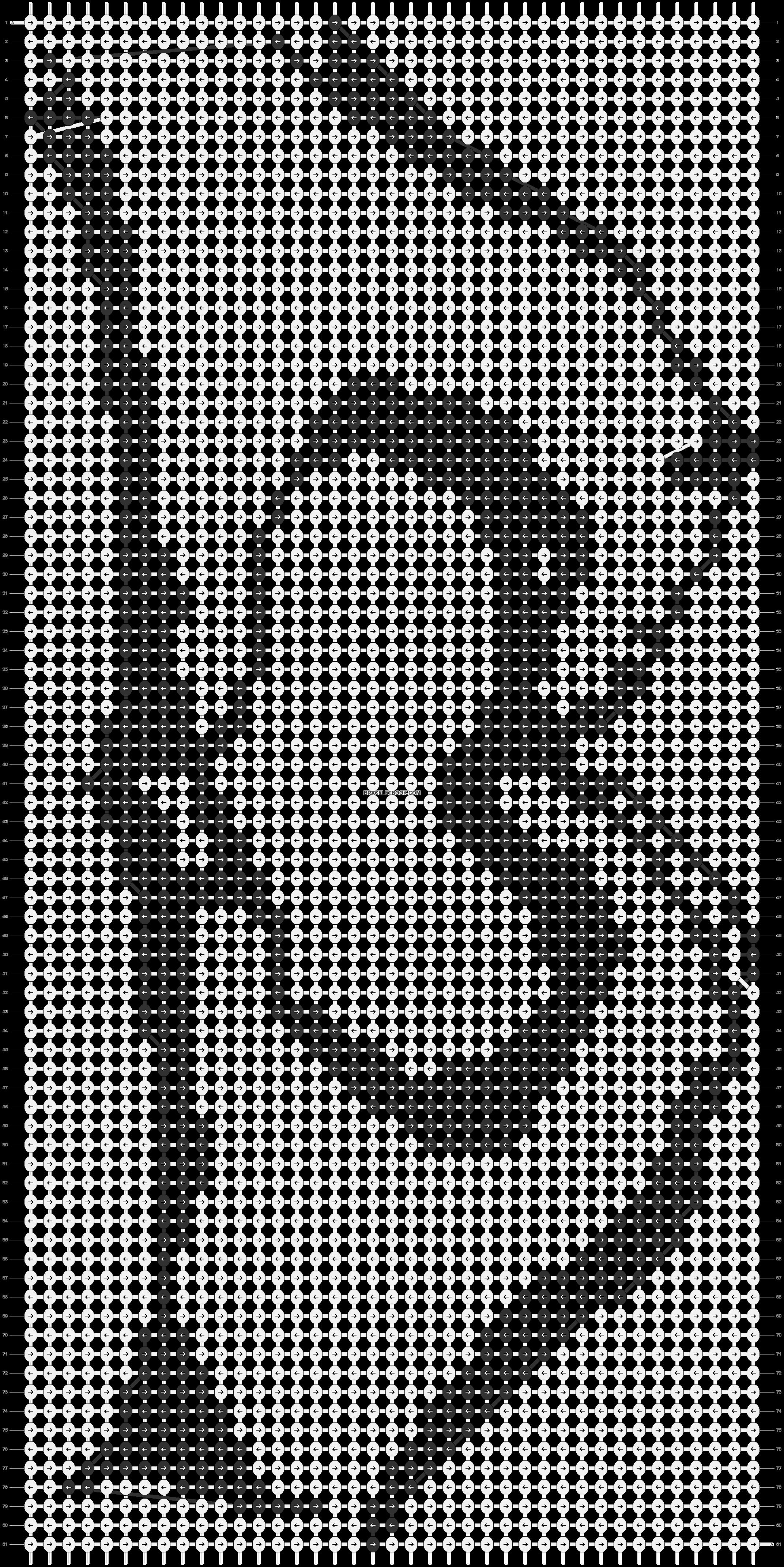 Alpha pattern #6839 pattern