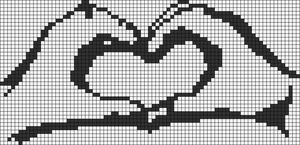 Alpha Friendship Bracelet Pattern #6839