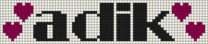 Alpha pattern #6840