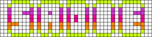 Alpha pattern #6843