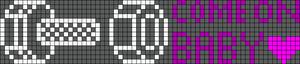 Alpha pattern #6845