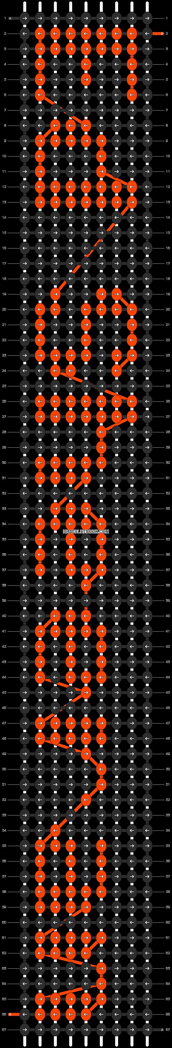 Alpha pattern #6848 pattern