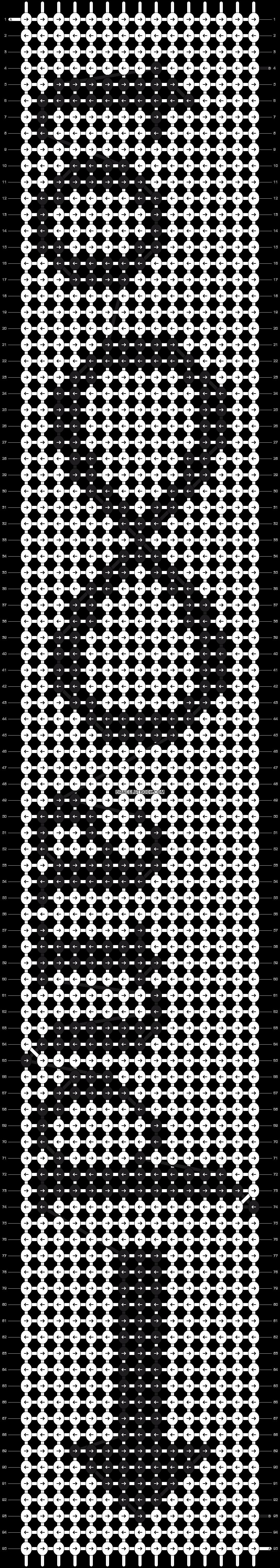 Alpha pattern #6849 pattern