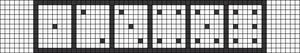 Alpha pattern #6852