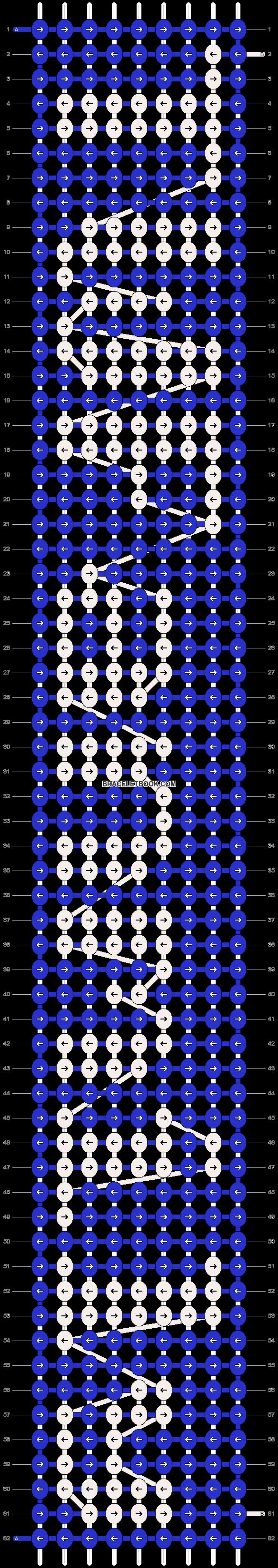 Alpha pattern #6854 pattern