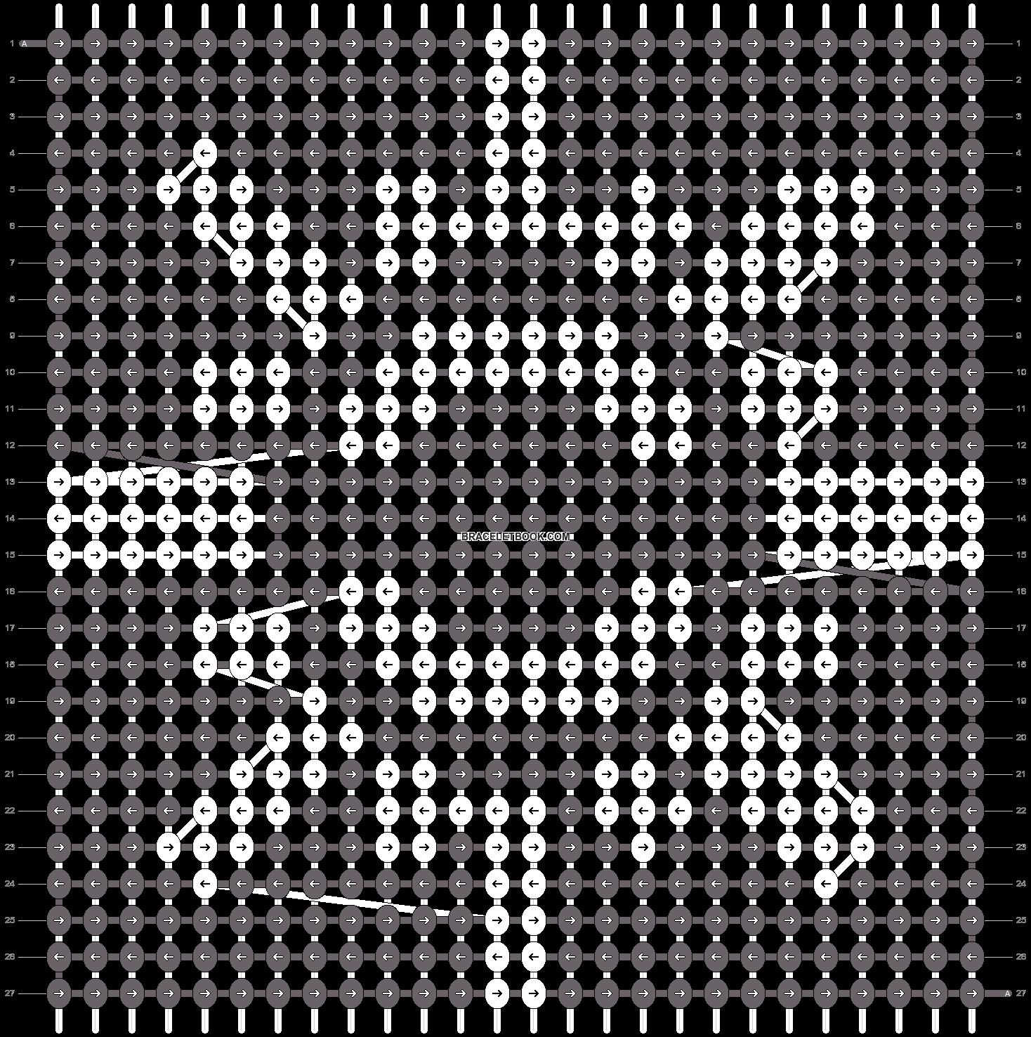 Alpha pattern #6855 pattern