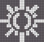Alpha pattern #6855