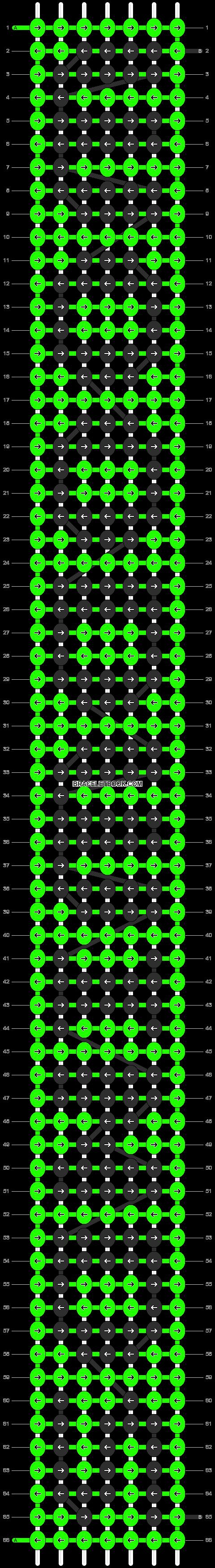 Alpha pattern #6856 pattern