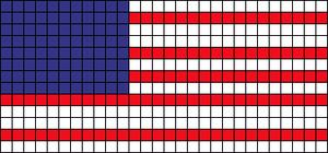 Alpha Friendship Bracelet Pattern #6859