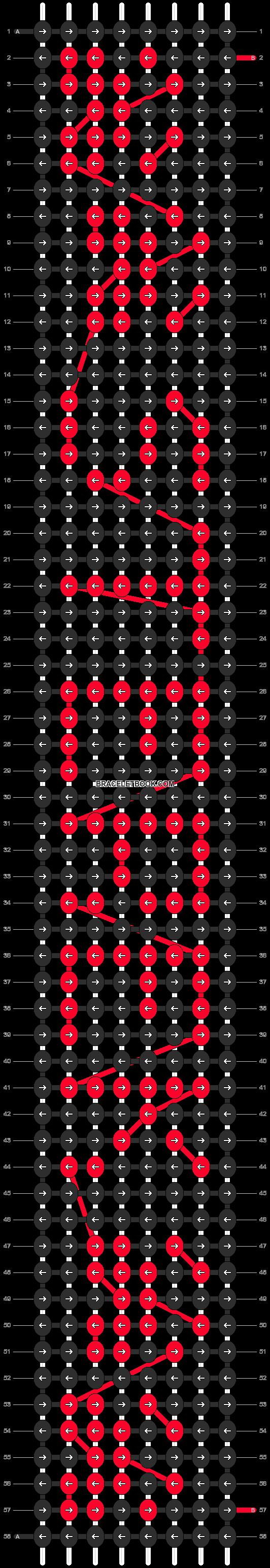 Alpha pattern #6860 pattern