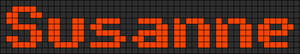 Alpha pattern #6870