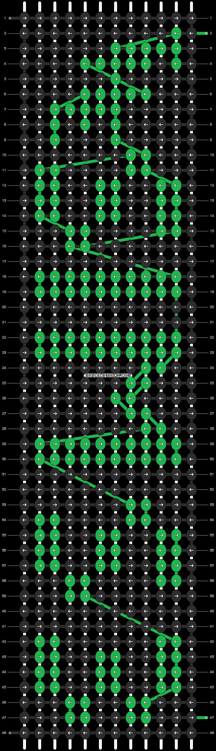 Alpha pattern #6871 pattern