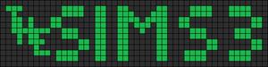 Alpha pattern #6871