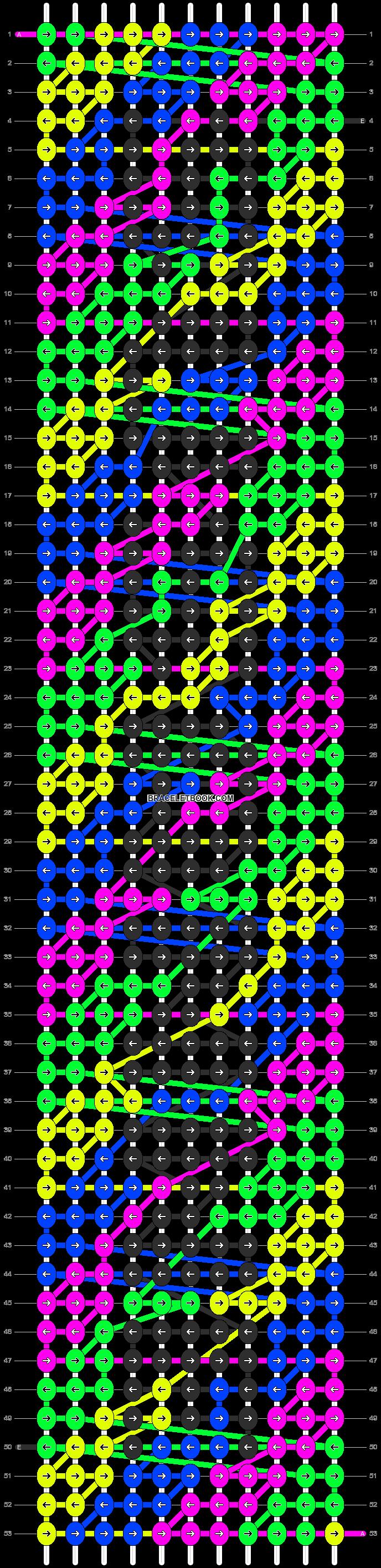 Alpha pattern #6872 pattern