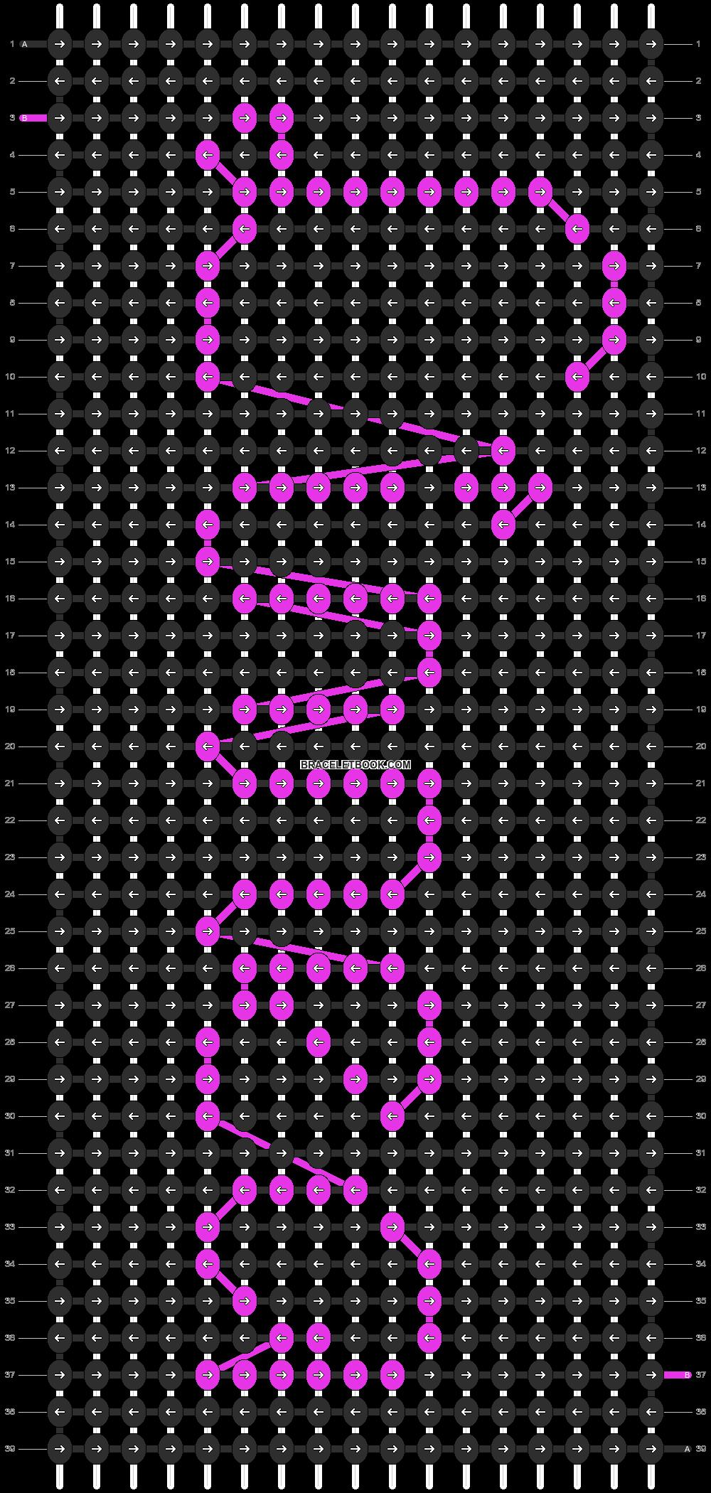 Alpha pattern #6874 pattern