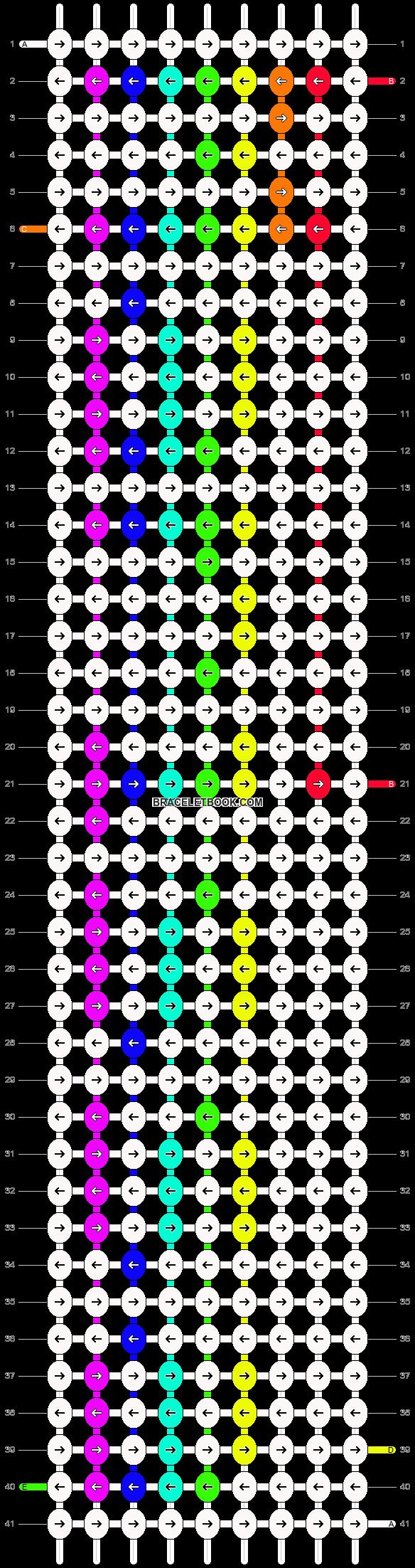 Alpha pattern #6875 pattern