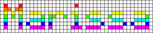 Alpha pattern #6875