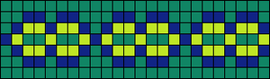 Alpha pattern #6876
