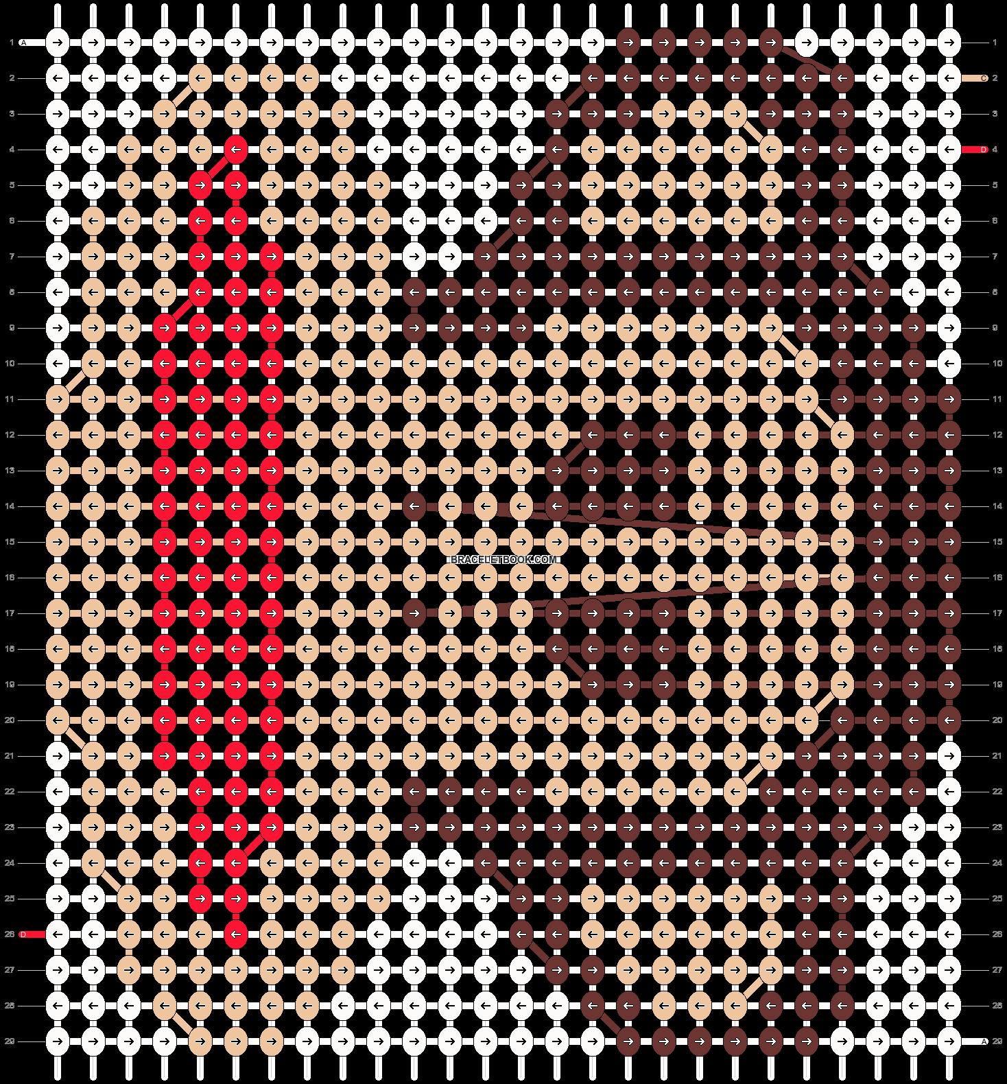 Alpha pattern #6878 pattern