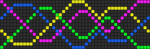 Alpha Friendship Bracelet Pattern #6882