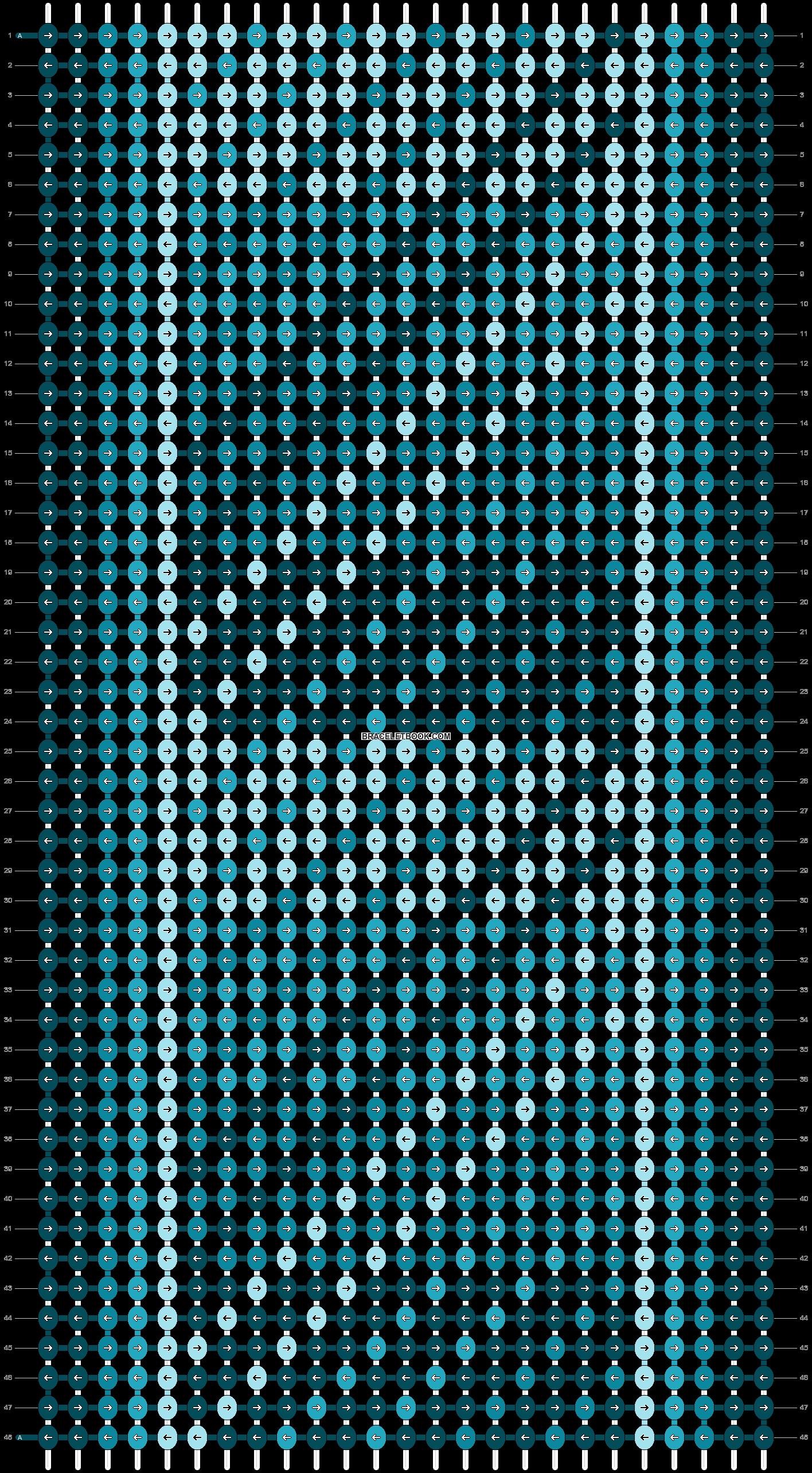 Alpha pattern #6883 pattern
