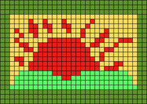 Alpha pattern #6885