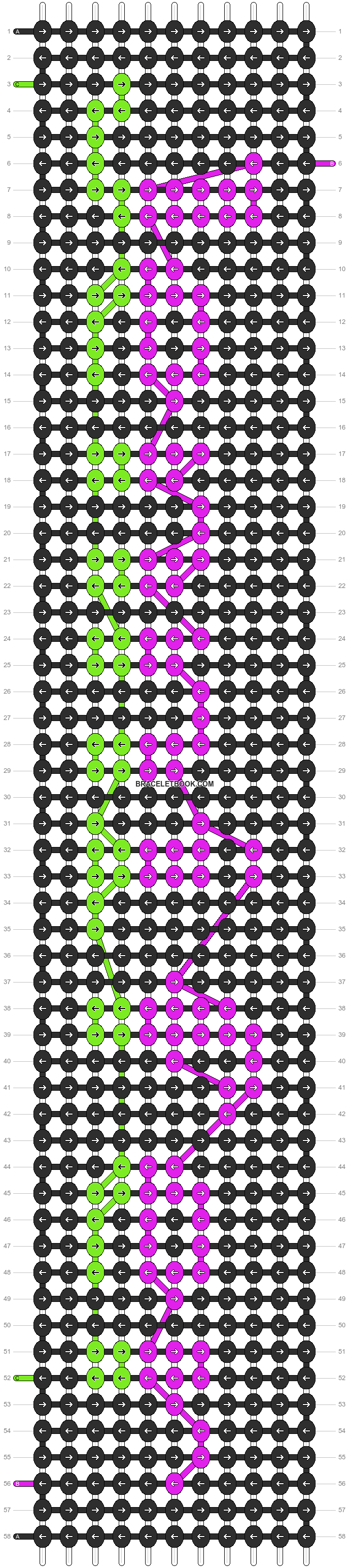 Alpha pattern #6887 pattern