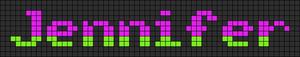 Alpha pattern #6887