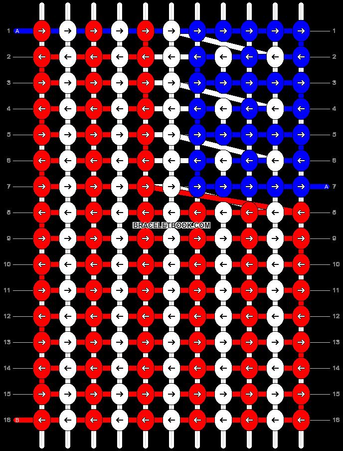 Alpha pattern #6902 pattern
