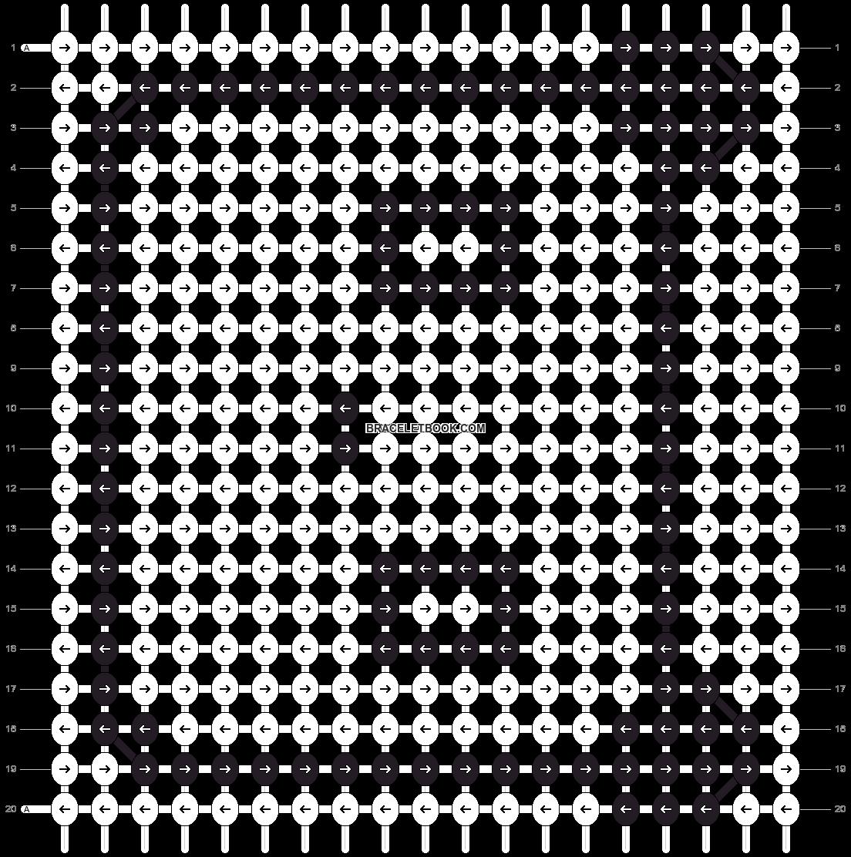 Alpha pattern #6903 pattern