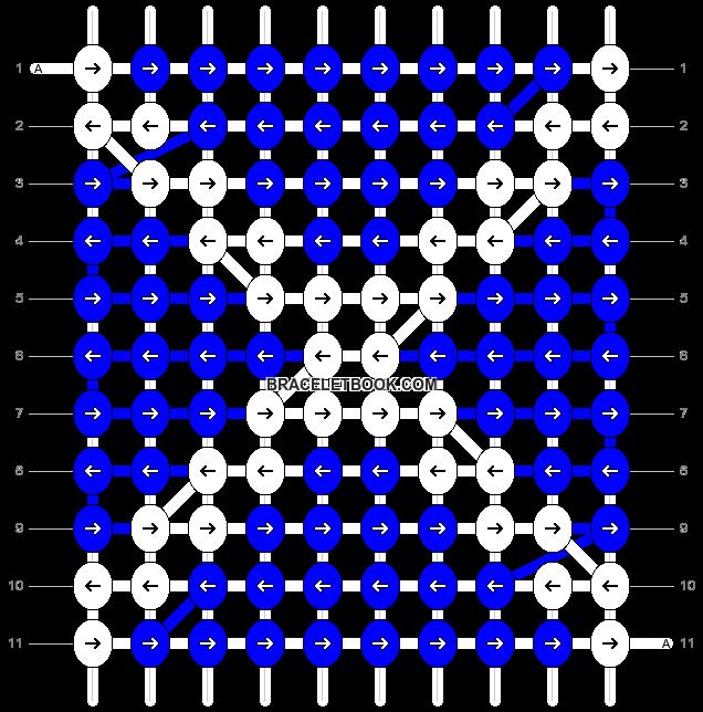 Alpha pattern #6904 pattern