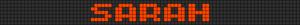 Alpha pattern #6906