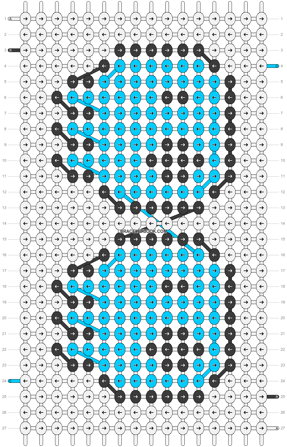 Alpha pattern #6912 pattern