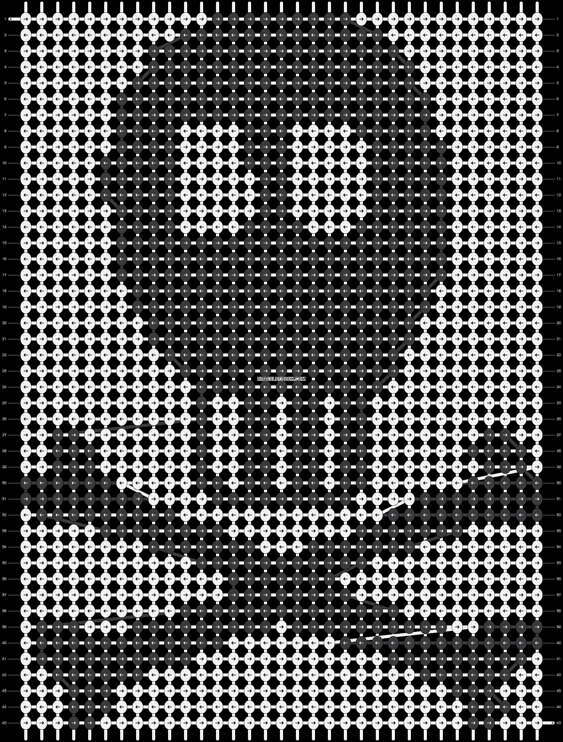 Alpha pattern #6915 pattern