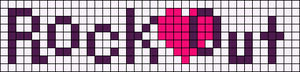 Alpha pattern #6916