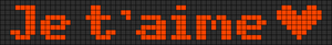 Alpha pattern #6917