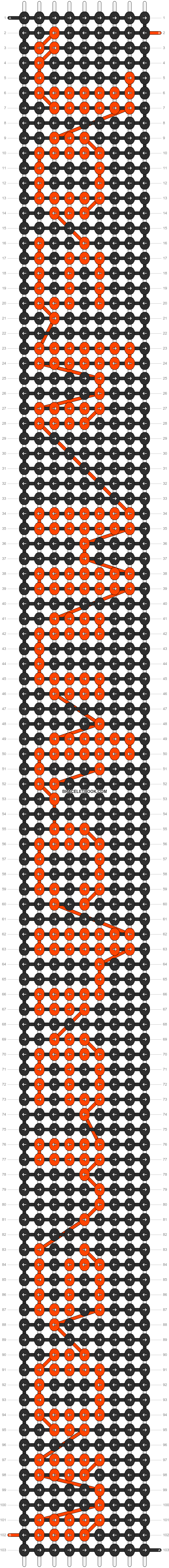 Alpha pattern #6919 pattern