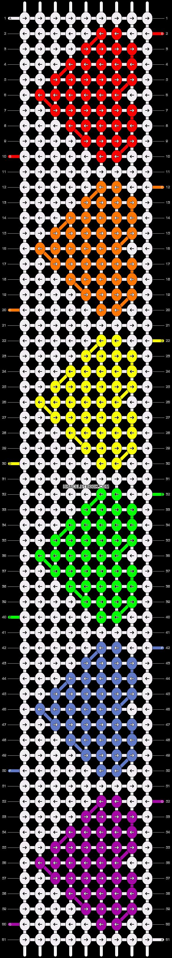 Alpha pattern #6921 pattern