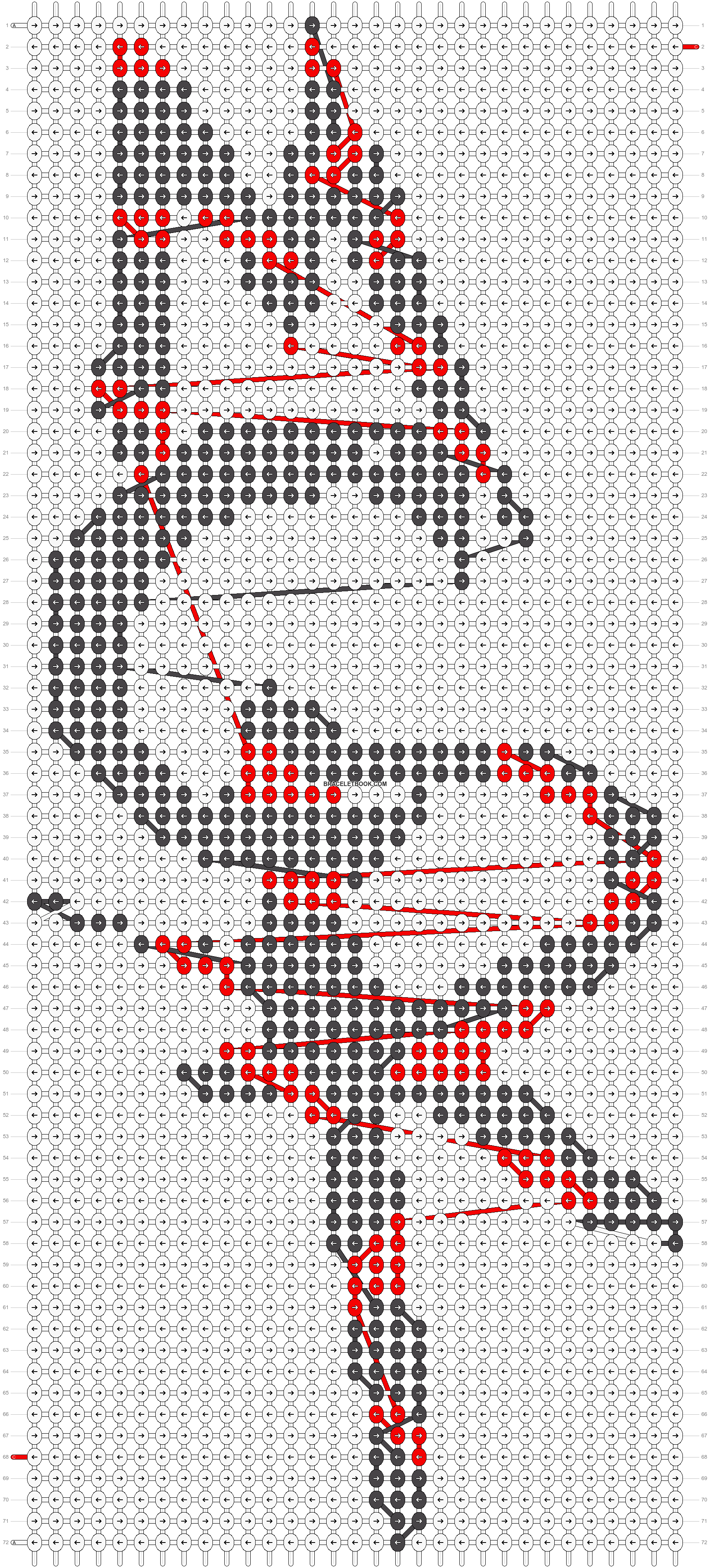 Alpha pattern #6922 pattern